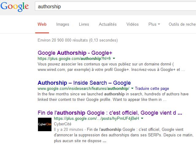 En quelques minutes votre post se positionne dans les SERPs Google.