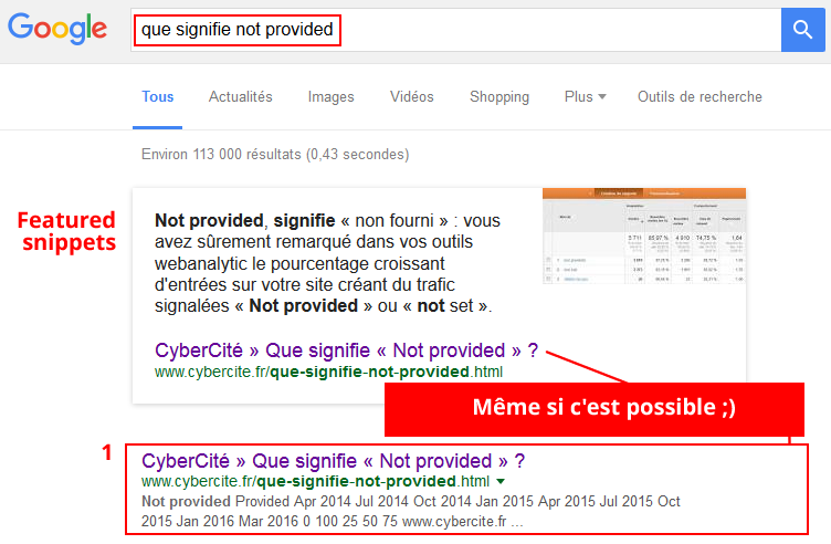 featured-snippets-not-provided