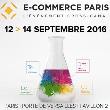 Salon e commerce paris du 12 au 14 septembre for Salon paris septembre 2016