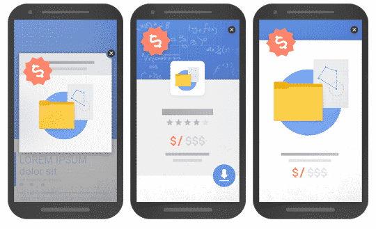 exemples popup intrusives google mobile