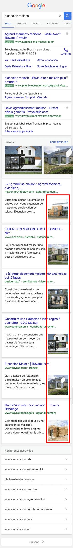 Google teste une nouvelle présentation de ses pages de résultats sur mobile.