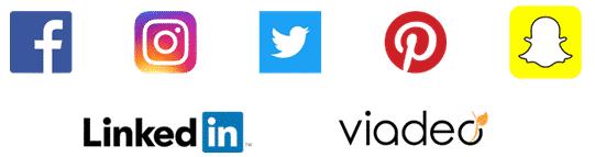 Logo des reseaux sociaux