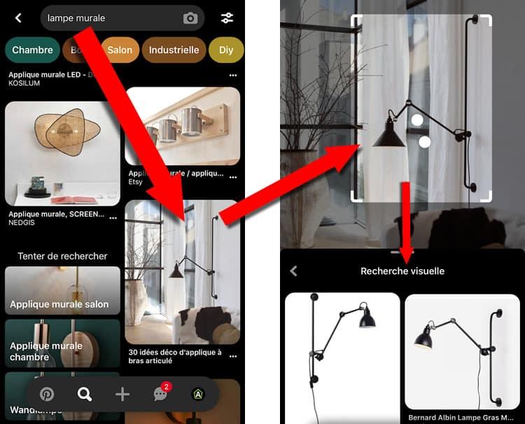 SEO Pinterest et recherche visuelle